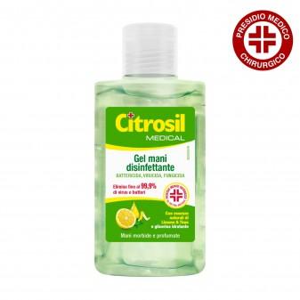 Citrosil Gel Disinfettante Mani Battericida Virucida e Fungicida Limone e Timo Presidio Medico Chirurgico - Flacone 100 ml