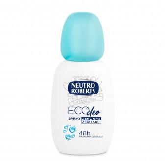 Neutro Roberts Eco Deo Deodorante Classico Senza Sali d'Alluminio e Gas - Spray da 75ml