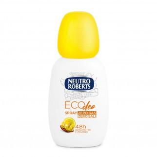 Neutro Roberts Eco Deo Deodorante Bergamotto e Zenzero Senza Sali d'Alluminio e Gas - Spray da 75ml
