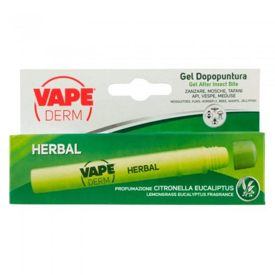 Vape Derm Herbal Stick Gel Dopopuntura Citronella Eucalipto