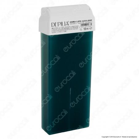Depilia 1.3 Azulene Cera Depilatoria Liposolubile per Ceretta - 1 Roll-On da 100ml