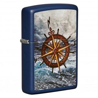Accendino Zippo Mod. 49408 Compass Design - Ricaricabile Antivento