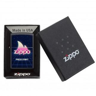 Accendino Zippo Mod. 49115 Gaming Design - Ricaricabile Antivento