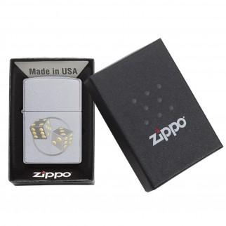 Accendino Zippo Mod. 29412 Dice - Ricaricabile Antivento