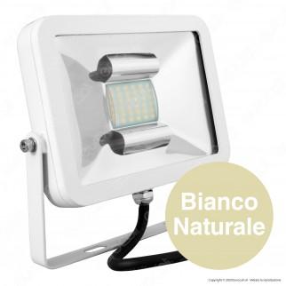 V-Tac I-Series VT-4832 Faretto LED SMD 30W Ultra Sottile da Esterno Colore Bianco - SKU 5652 / 5653 / 5654