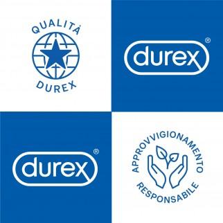 Preservativi Durex Love Extra Lube - Scatola 6 pezzi