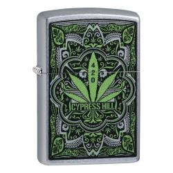 Accendino Zippo Mod. 49010 Cypress Hill - Ricaricabile Antivento