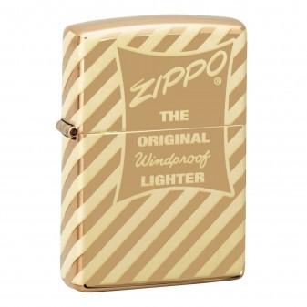 Accendino Zippo Mod. 49075 Vintage Zippo Box Top - Ricaricabile Antivento