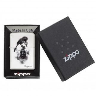 Accendino Zippo Mod. 29645 Spazuk - Ricaricabile Antivento
