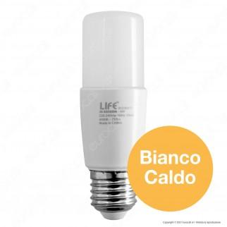 Life Lampadina LED E27 8W Tubolare T38 - mod. 39.920509C / 39.920509N / 39.920509F