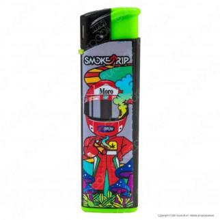 SmokeTrip Accendini Elettronici Ricaricabili Fantasia Motors - Box da 50 Accendini