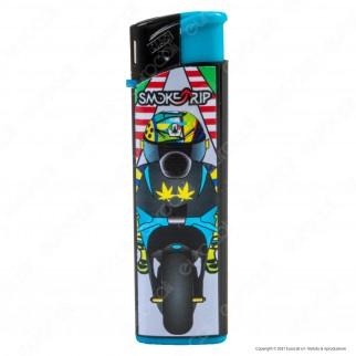 SmokeTrip Accendini Elettronici Ricaricabili Fantasia Motors - 5 Accendini
