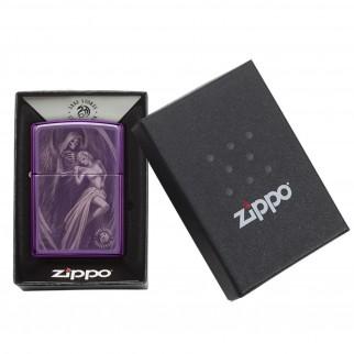 Accendino Zippo Mod. 29717 Anne Stokes Death - Ricaricabile Antivento