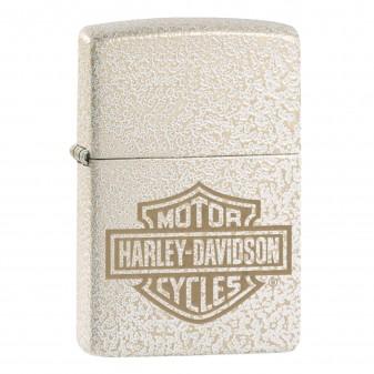 Accendino Zippo Mod. 49467 Harley-Davidson® Mercury Glass - Ricaricabile Antivento