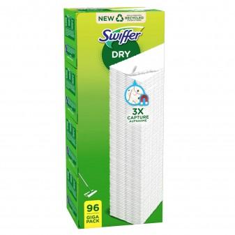 Swiffer Dry Panni Catturapolvere - Confezione da 96 Panni