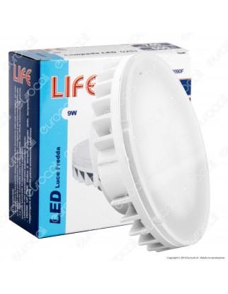 Life Lampadina LED GX53 9W Bulb Disc - mod. 39.950090C / 39.950090N / 39.950090F
