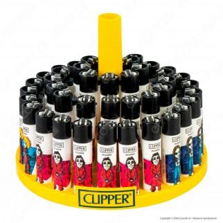 Clipper Large Fantasia Artistas 2 - Box da 48 Accendini