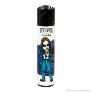 Clipper Large Fantasia Artistas 2 - Serie da 4 Accendini