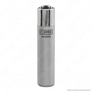 Clipper Large Fantasia Metallic - 4 Accendini