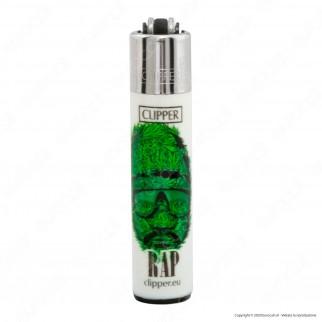 Clipper Micro Fantasia Weed Silhouettes - 4 Accendini