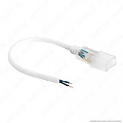V-Tac Cavo di Alimentazione con Connettore per LED Neon StripLight - SKU 3331
