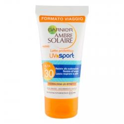 Garnier Ambre Solaire UV Sport SPF 30 Protezione Alta a Rapido Assorbimento Resistente al Sudore - Flacone da 50ml