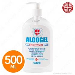 Gel Disinfettante Mani Professionale Igienizzante - Presidio Medico Chirurgico Efficace Contro Virus - Flacone da 500ml