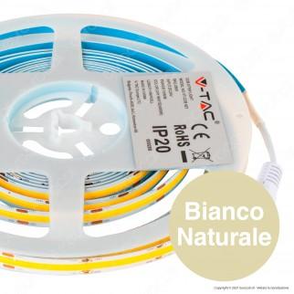 V-Tac VT-512 Striscia LED COB Monocolore 10W/M 24V - Bobina da 5 metri - SKU 2667 / 2668