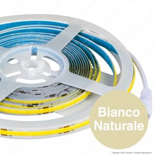 V-Tac VT-COB-280 Striscia LED COB Monocolore 10W/M 24V - Bobina da 5 metri - SKU 2652 / 2654