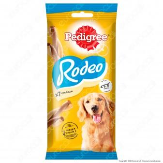 Pedigree Rodeo Snack Masticabile per Cani al Gusto Pollo - Bustina da 7 Stick