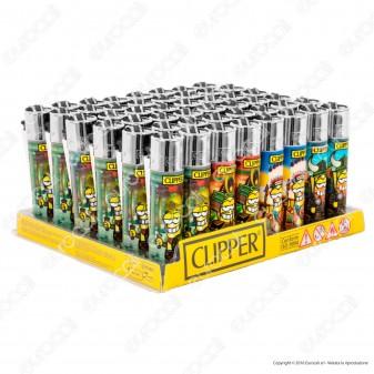 Clipper Large Fantasia Clipperman Warriors - Box da 48 Accendini