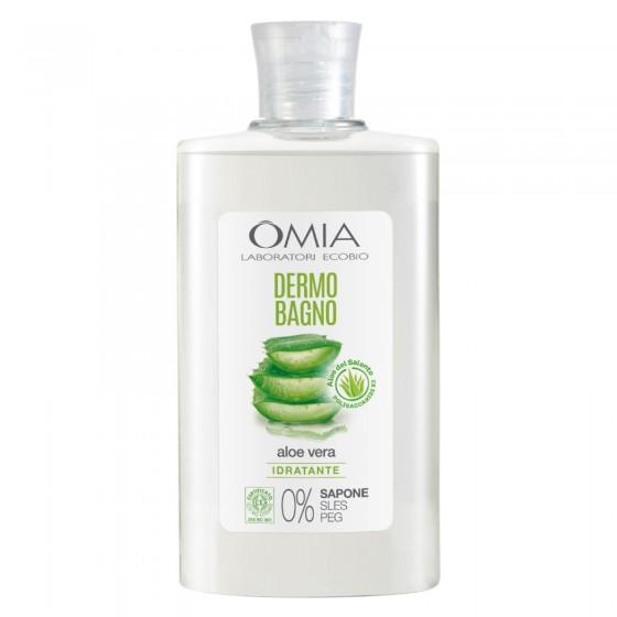 Omia Dermo Bagno Detergente Corpo Aloe Vera - Flacone da 400 ml