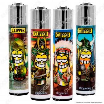 Clipper Large Fantasia Clipperman Warriors - 4 Accendini