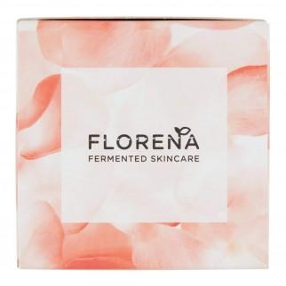 Florena Fermented Skincare Crema Giorno Anti Rughe Naturale con Caprifoglio e Acido Ialuronico - Barattolo da 50 ml
