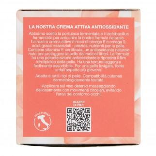 Florena Fermented Skincare Crema Attiva Antiossidante Naturale con Portulaca e Lactobacillus - Barattolo da 50 ml