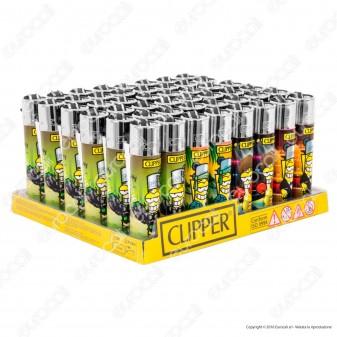 Clipper Large Fantasia Clipperman Movies - Box da 48 Accendini