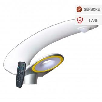 V-Tac VT-130W Faro Stradale LED con Pannello Solare 20W Lampione SMD - SKU 5505 / 5506
