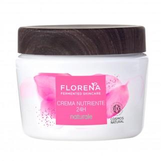 Florena Fermented Skincare Crema Nutriente 24H Naturale - Barattolo da 50ml