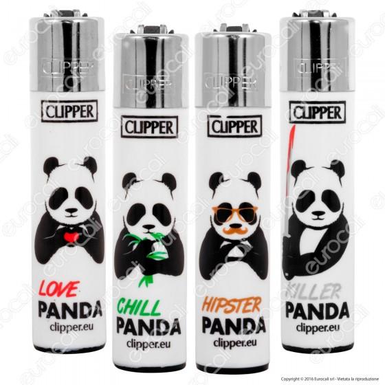 Clipper Large Fantasia Pandas - 4 Accendini
