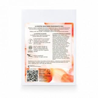 Florena Fermented Skincare Maschera Rassodante Naturale - Confezione con 1 Trattamento Monouso