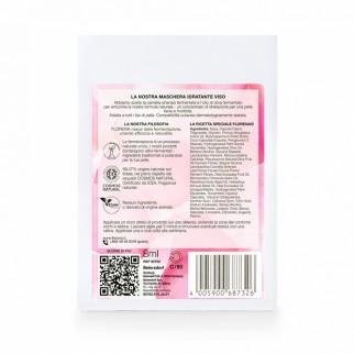 Florena Fermented Skincare Maschera Idratante Naturale - Confezione con 1 Trattamento Monouso