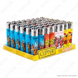 Clipper Large Fantasia Fortuna 2 - Box da 48 Accendini