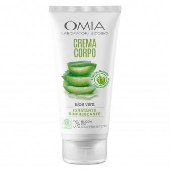 Omia Crema Corpo Ecobiologica Aloe Vera - Flacone da 200ml