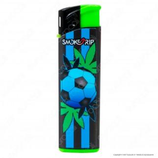 SmokeTrip Accendini Elettronici Ricaricabili Fantasia Football - 5 Accendini