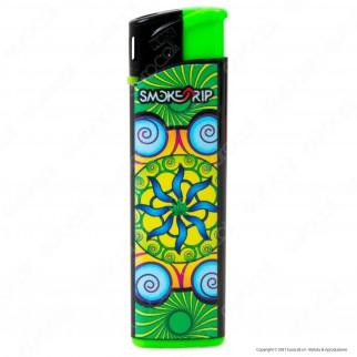 SmokeTrip Accendini Elettronici Ricaricabili Fantasia Mandala - Box da 50 Accendini