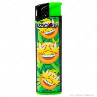 SmokeTrip Accendini Elettronici Ricaricabili Fantasia Emoticon - 5 Accendini