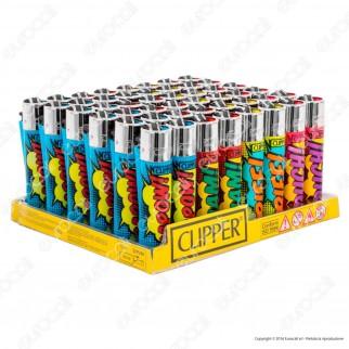 Clipper Large Fantasia Cartoon Sounds - Box da 48 Accendini