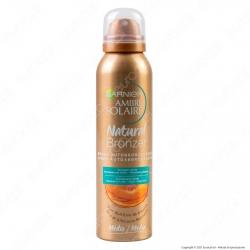 Garnier Ambre Solaire Natural Bronzer Spray Autoabbronzante con Olio di Albicocca - Flacone da 150ml