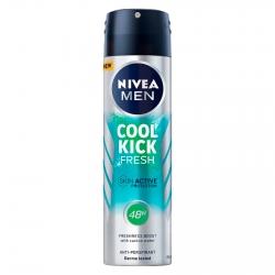Nivea Men Deodorante Spray Cool Kick Fresh - Flacone da 150 ml