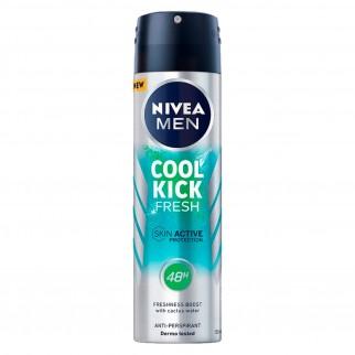 Nivea Men Deodorante Spray Cool Kick Fresh - Flacone da 150ml